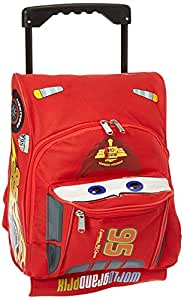 Disney Pixar Cars 2 Rolling Lightning McQueen Luggage Suitcase Race Car