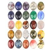 Wholesale Gemstone Mix Kinds of Jasper Agate Oval