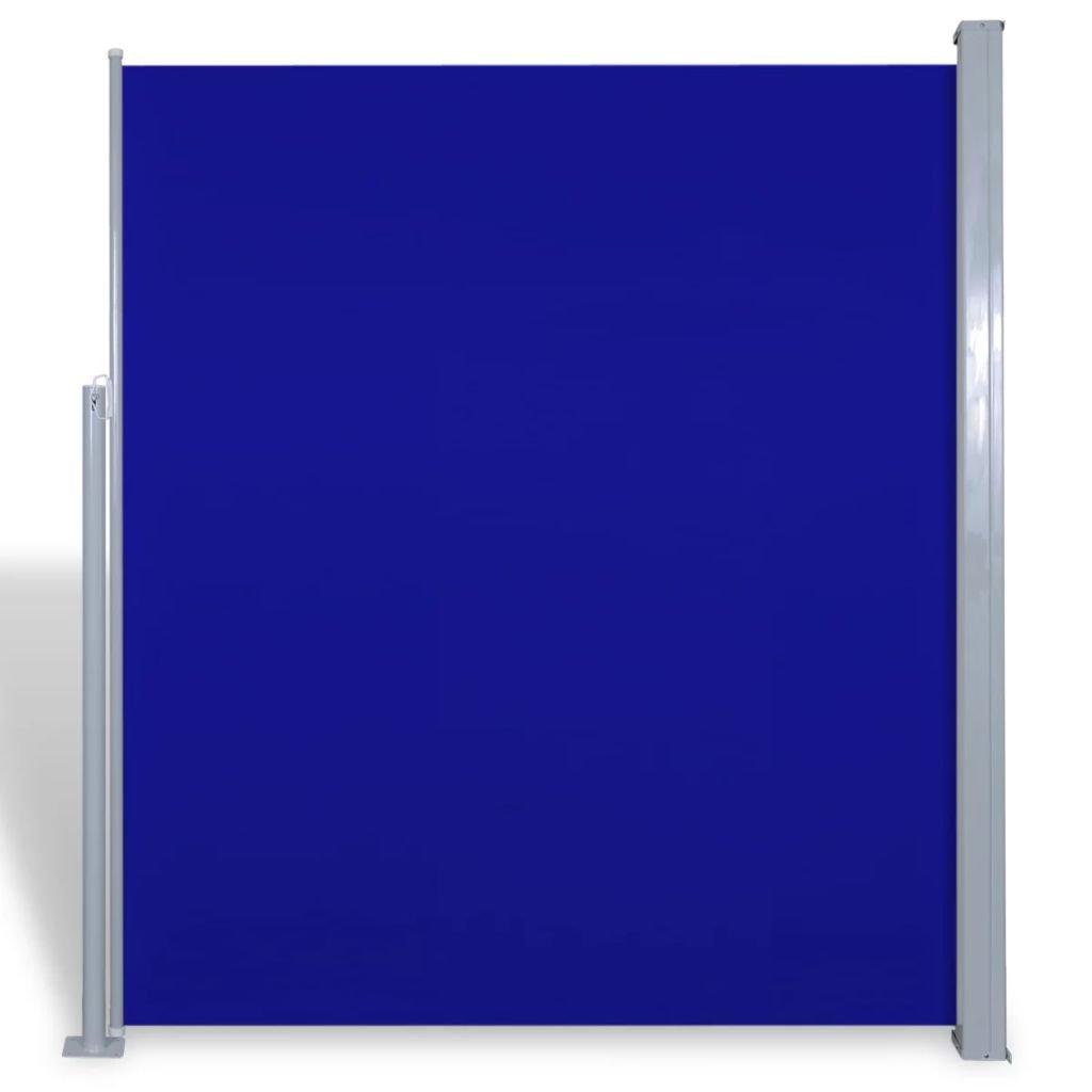 Tidyard Tenda Laterale Paravento//Tenda Laterale per Patio e Terrazzo 160 x 300 cm Blu