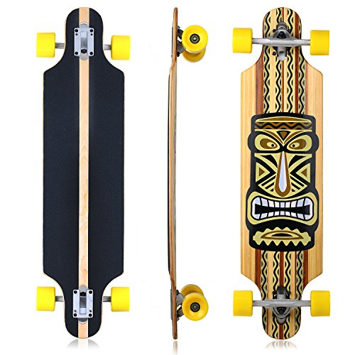 Bamboo Complete Longboard Skateboard (Vokul Bamboo Longboards)