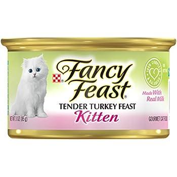 Amazon Com Purina Fancy Feast Tender Turkey Feast Wet