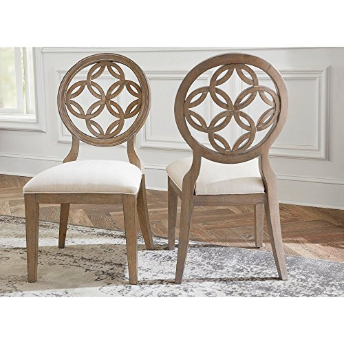 Hillsdale Savona Dining Chair in Vintage Gray (Set of 2)