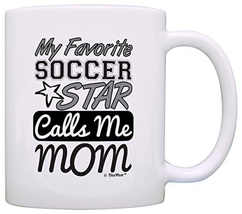 Soccer Favorite Calls Coffee White