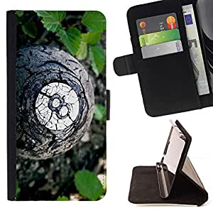 Momo Phone Case / Flip Funda de Cuero Case Cover - bola 8;;;;;;;; - Sony Xperia Z3 D6603