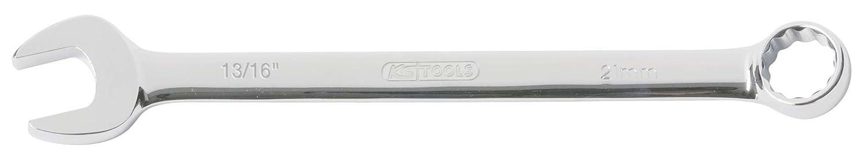 KS Tools 518.3009 CHROMEplus Ringmaulschlü ssel, abgewinkelt, 3/4' 3/4 KS-Tools Werkzeuge-Maschine 4042146223680