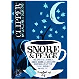 Clipper Organic Snore and Peace Tea Bag - Pack of 20, 30g