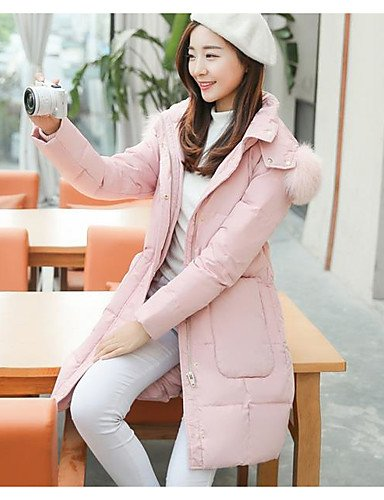 Polypropylene Sleeves Others Long Acrylic Going Down Simple Print Cotton Women's Active amp;SHANGYI TT Coat 2xl out Solid Striped blushing pink qan6x1SZOw