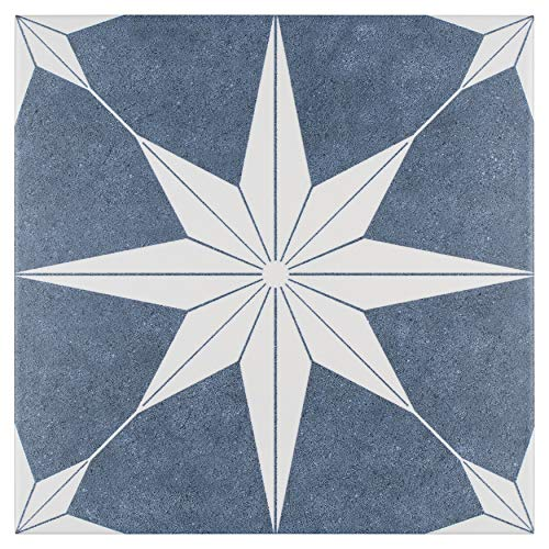 SomerTile FCDSTDA Campania Porcelain Floor and Wall, 9.75