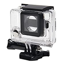 niceEshop(TM) Clear View Skeleton Open Side Protective Housing Case With Lens for Gopro 3 plus and Gopro 4