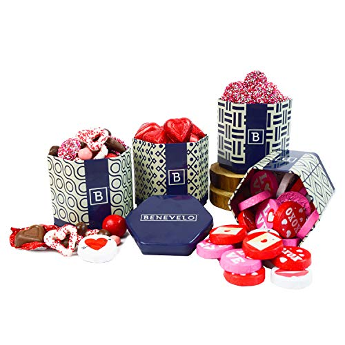 - Happy Fathers Day Gift Tins - Chocolate Hearts, Sweetheart Mix, Nonpareils, and Cupid Mix
