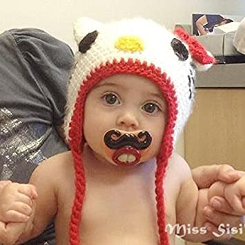 Amazon.com: 2014 Funny Baby chupetes tetina de silicona Boca ...