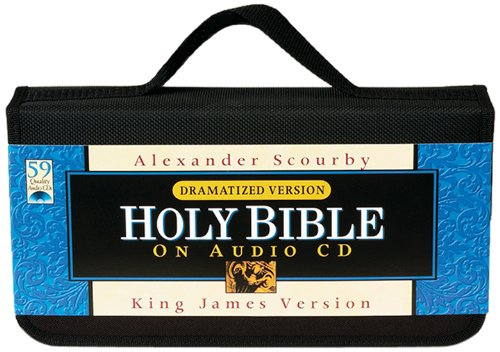 Scourby KJV Audio Bible: King James Version, Dramatized by Hendrickson Publishers