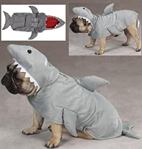 Zack & Zoey Jaws Land Shark Plush Halloween Dog Costume Small