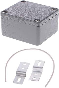 JENOR caja de conexiones de aluminio fundido sellada 64 x 58 x 35 mm LxWxH IP67: Amazon.es: Bricolaje y herramientas