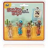 Drinking Chaps Drinking Buddies NPW Set of 4 Cowboys