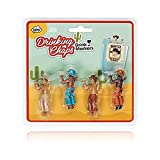 Drinking Chaps Drinking Buddies NPW Set of 4 Cowboys