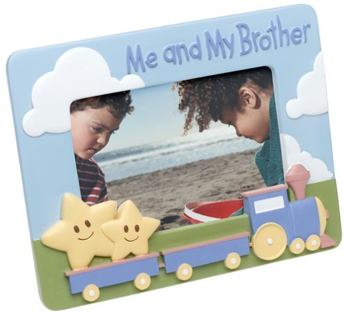 Me and My Brother Ceramic 4x6 Picture Frame - Brother Ceramic