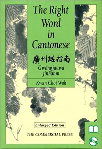 Book The Right Word in Cantonese