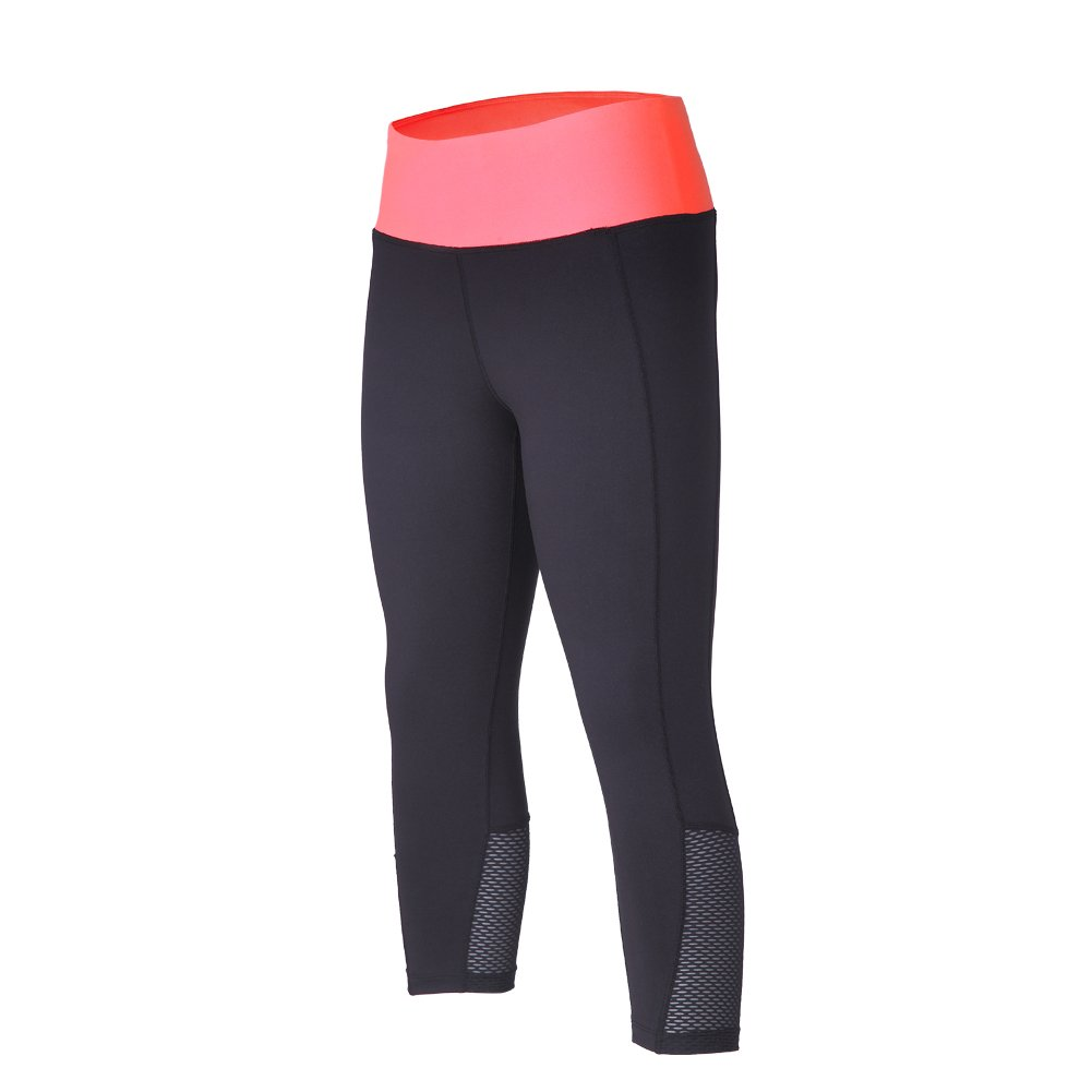 ebc317f15097e The pants material:82% Polyester & 18% spandex thin fleece, the mesh panels  material:95% Polyester & 5% spandex ☆ The lightweight thin fleece style  tights ...