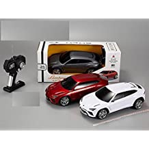Licensed Lamborghini Urus SUV Car 1/18 Scale Radio Control Car (Colors May Vary) Authentic Body Styling by Midea Tech
