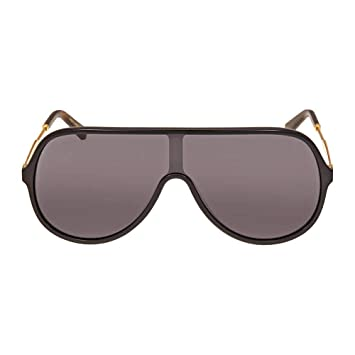 Gafas de Sol Gucci GG0199S Black Gold/Grey Unisex: Amazon.es ...