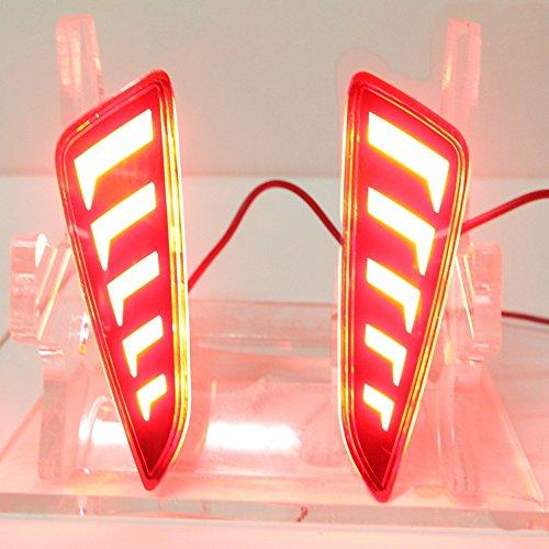 Julio King - Guías de luz LED de freno, advertencia de seguridad