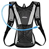 KUYOU Hydration Pack Water Rucksack Backpack Bladder Bag Cycling Bicycle Bike/Hiking Climbing Pouch + 2L Hydration Bladder
