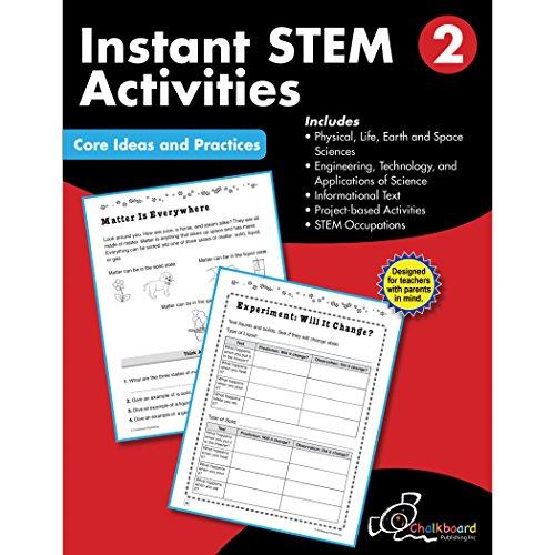Stem Grade 2 (Chalkboard Publishing Workbooks)