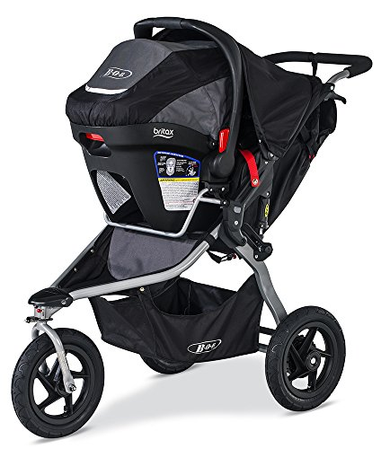 Image of the BOB Rambler Travel System, Black