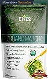 Enzo's Tea Collection - Premium Organic Matcha 4.4oz (125g) - Drinking Grade Macha Green Tea Powder for Hot & Cold Tea, Fresh Tropically Grass Undertone The Perfect Drink to Start the Day