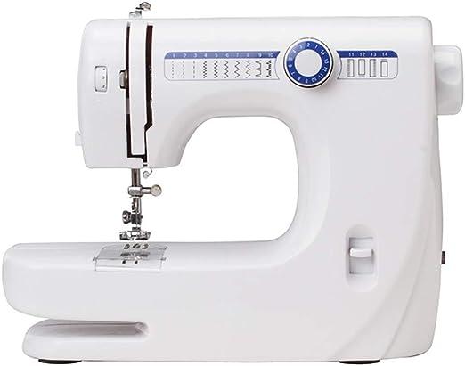 Máquina de coser eléctrica multifunción, 2 velocidades, 12 puntos ...