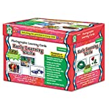 Photographic Learning Cards Boxed Set, Early Learning Skills, Grades K-12, Sold as 1 Set