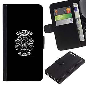 Biker Gang - la tarjeta de Crédito Slots PU Funda de cuero Monedero caso cubierta de piel Para Apple (5.5 inches!!!) iPhone 6+ Plus / 6S+ Plus