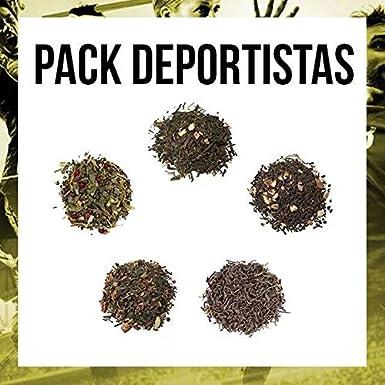 Aromas de Té - Pack Té Deportistas contiene Infusión Rooibos ...