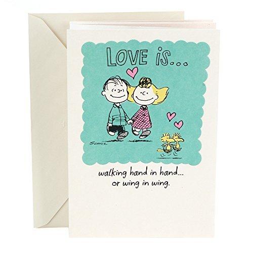 Hallmark Anniversary Greeting Card (Peanuts Vignette) Photo #1