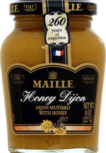 Honey Dijon Mustard - Maille Honey Mustard 8.0 OZ(Pack of 2)
