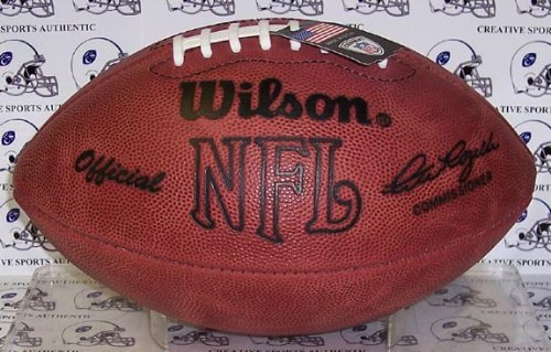 Creative Sports Enterprises WILSON-F1006 Wilson Official NFL Football - Throwback Pete Rozelle by Sports Memorabilia