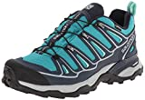 Salomon Women's X Ultra 2 Gtx W, Peacock Deep Blue/Lucite Green, 6 M US
