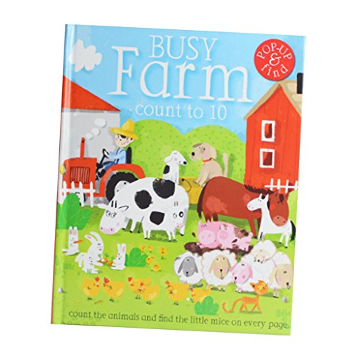 Fityle 3D Pop Up Books for Kids Boys Girls (Story Book, Baby Book, Children's Book) - A busy farm by Fityle (Image #6)