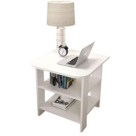 Small Cofee Table Sofa Side Table Bedside Cabinet Nightstand 3-layer Shelf 706bd7aad5