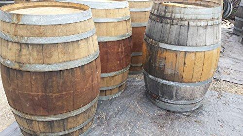 Authentic Used Wine Barrel - Bordeaux-style