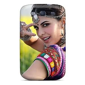 New Jacqueline Fernandez In Ramaiya Vastavaiya Tpu Case Cover, Anti-scratch DJBsF10600WGjZr Phone Case For Galaxy S3