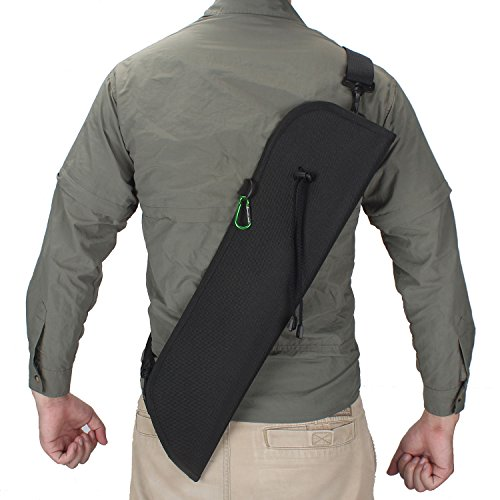 XTACER Dual-purpose Back Quiver Hunting Training Archery Arrow Quiver Holder Shoulder Waist Hanged Quiver
