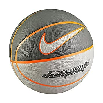 Nike Dominate basketball-Size 5 Grey Cool Grey/Tumbled Grey/Total Orange/