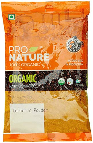 Pro Nature 100% Organic Turmeric Powder, 100g