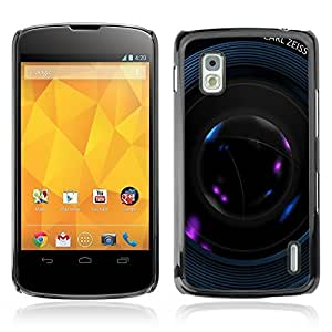 Graphic4You Camera Lens Photography Design Hard Case Cover for LG Nexus 4