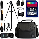 32GB Accessory Kit for Nikon Coolpix A900, B700, B500, P900, L840, L830, L820, P610, P600, P520, L320, P7800 Digital Cameras includes 32GB High-Speed Memory Card + Fitted Case + 60 inch Tripod + MORE