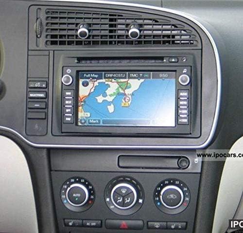 Saab 9.3 Radio Navigation Display Button Overlay Decal Repair Kit Best