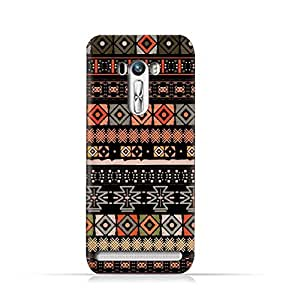 AMC Design Asus Zenfone Selfie ZD551KL TPU Silicone Protective Case with Ethnic Boho Seemless Pattern Design