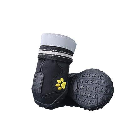 98da49cacd5de Amazon.com : Haoweidaoshanghang Dog Shoes, Breathable, Waterproof ...